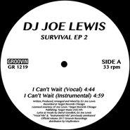 """Joe Lewis, Survival EP 2 (12"""")"""