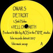 """Omar S, Sink Holes / Hit It Bubba (12"""")"""