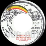 """Ras Michael & The Sons Of Negus, Numbered Days (7"""")"""