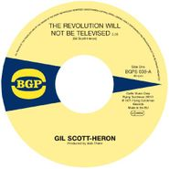 "Gil Scott-Heron, Revolution Will Not Be Televised / Home Is Where (7"")"