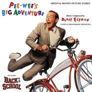 Danny Elfman, Pee-Wee's Big Adventure [Score] [Red Vinyl] (LP)