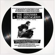 Joe Strummer & The Mescaleros, Live at Acton Town Hall (LP)
