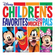 Various Artists, Children's Favorites With Mickey & Pals [Red Vinyl] (LP)