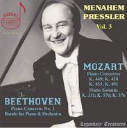 Ludwig van Beethoven, Menahem Pressler Vol. 3 (CD)
