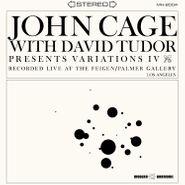 John Cage, Variations IV (LP)