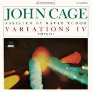 John Cage, Variations IV, Vol. 2 (LP)