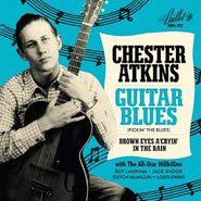 "Chet Atkins, Guitar Blues / Brown Eyes A'Cryin' In The Rain [Black Friday Blue Vinyl] (7"")"