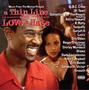 Various Artists, Thin Line Between Love & Hate [Transparent Red Vinyl]  (LP)