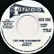 "Donna V, Cry For Tomorrow (7"")"