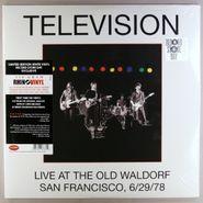 Television, Live At The Old Waldorf  San Francisco, 6/29/78 (LP)