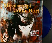 Mississippi John Hurt, Candy Man Blues [180 Gram Blue Vinyl] (LP)