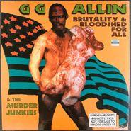 G.G. Allin, Brutality & Bloodshed For All (LP)