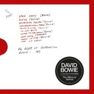 David Bowie, The Mercury Demos (LP)