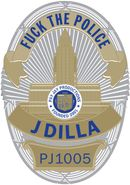 "J Dilla, Fuck The Police [Badge Shaped Vinyl] [Record Store Day] (7"")"