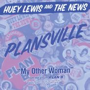 """Huey Lewis & The News, Plansville / My Other Woman [Black Friday] (7"""")"""
