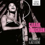 Sarah Vaughan, Milestones Of A Jazz Legend [Box Set] (CD)