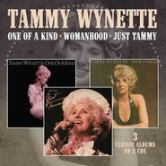 Tammy Wynette, One Of A Kind / Womanhood / Just Tammy (CD)