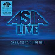 Asia, Asia Live: Central Studios 23rd June 1990 [Blue Vinyl] (LP)