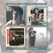 Rodney Crowell, Street Language / Keys To The Highway / Life Is Messy / The Outsider (CD)