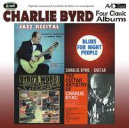 Charlie Byrd, Jazz Recital / Blues For Night People / Byrd's (CD)
