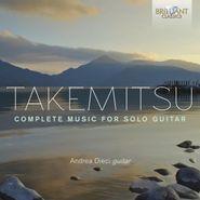 Toru Takemitsu, Takemitsu: Complete Music For Solo Guitar (CD)