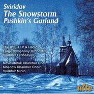 Georgy Vasilevich Sviridov, Sviridov: The Snowstorm / Pushkin's Garland (CD)
