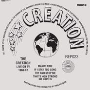 """The Creation, Live On TV 1966-67 (7"""")"""