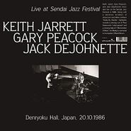 Keith Jarrett, Live At Sendai Jazz Festival, Denryoku Hall, Japan, 20.10.1986 (LP)