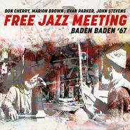Don Cherry, Free Jazz Meeting: Baden Baden '67 (CD)