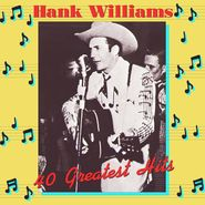 Hank Williams, 40 Greatest Hits [180 Gram Vinyl] (LP)