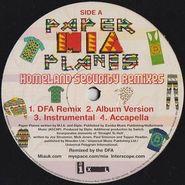 """M.I.A., Paper Planes - Homeland Security Remixes (12"""")"""