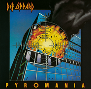Def Leppard, Pyromania [Red Vinyl] (LP)