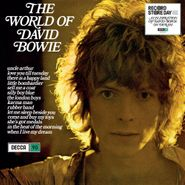 David Bowie, The World Of David Bowie [Record Store Day Blue Vinyl] (LP)