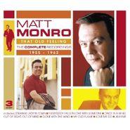 Matt Monro, That Old Feeling: The Complete Recordings 1955-1962 (CD)