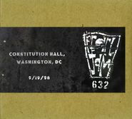 Pearl Jam, Official Bootleg: Constitution Hall, Washington, DC 9/19/1998 (CD)