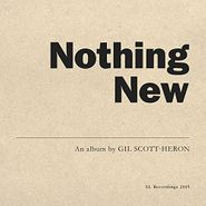 Gil Scott-Heron, Nothing New (LP)