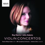 Roy Harris, Harris & Adams: Violin Concertos (CD)