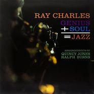 Ray Charles, Genius + Soul = Jazz (LP)