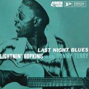 Lightnin' Hopkins, Last Night Blues [180 Gram Vinyl] (LP)