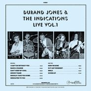 Durand Jones & The Indications, Durand Jones & The Indications Live Vol. 1 [Black Friday Blue Vinyl] (LP)