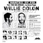 Willie Colón, Wanted By FBI / The Big Break - La Gran Fuga [Record Store Day White Vinyl] (LP)