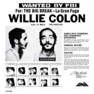 Willie Colón, Wanted By FBI / The Big Break - La Gran Fuga (LP)