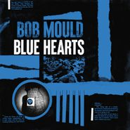 Bob Mould, Blue Hearts [Black, Blue & White Striped Colored Vinyl] (LP)