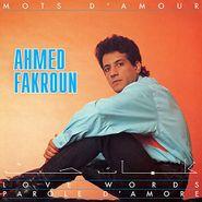 Ahmed Fakroun, Mots D'Amour (CD)