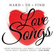 Various Artists, Hard To Find Love Songs (CD)