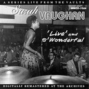 Sarah Vaughan, 'Live' And S'Wonderful (CD)