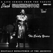 Dinah Washington, Live - The Early Years (CD)