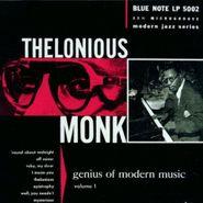 Thelonious Monk, Genius Of Modern Music, Volume One (CD)