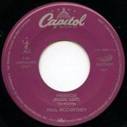 "Paul McCartney, Freedom [Radio Edit] / From A Lover To A Friend (7"")"