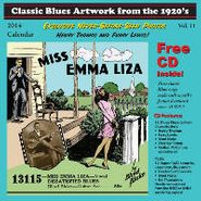 Various Artists, Classic Blues Artwork From The 1920's Vol. 11 [Includes 2014 Calendar] (CD)